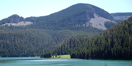 Crystal Lake in Lewistown, Montana