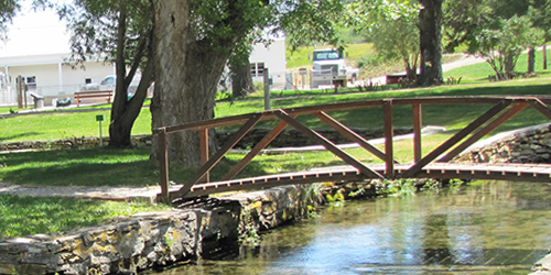 Big Spring Trout Hatchery in Lewistown, Montana