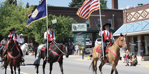 Lewistown Parades in Lewistown, Montana