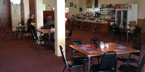 Pourman's Cafe in Lewistown, Montana