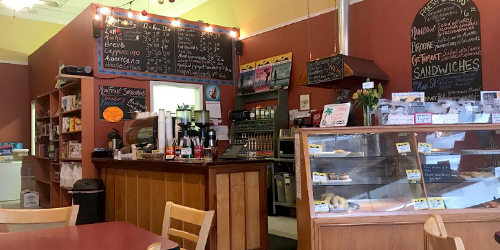 Rising Trout Coffee & Bakery in Lewistown, Montana