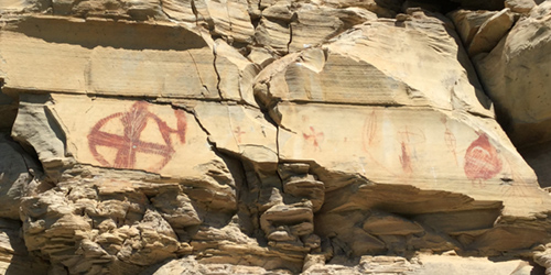 Bear Gulch Pictographs